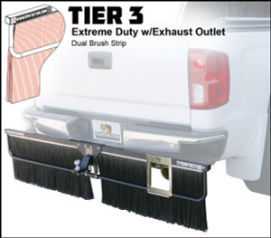 Tier 3 (Extreme Duty Dual Brush Strip With Exhaust Outlet)
