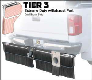 Tier 3 (Extreme Duty Dual Brush Strip With Exhaust Port)