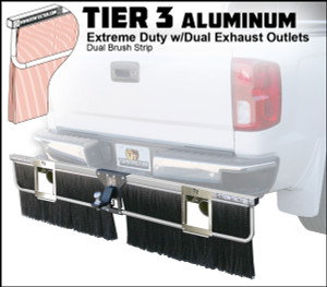 Tier 3 Aluminum (Extreme Duty Dual Brush With Dual Exhaust Outlets)