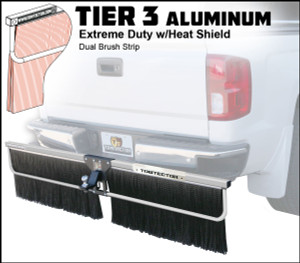 Tier 3 Aluminum (Extreme Duty Dual Brush Strip With Heat Shield)
