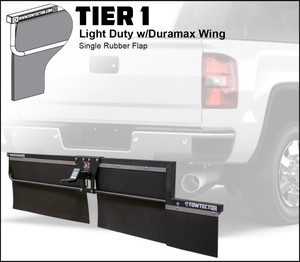 Tier 1 (Light Duty Single Rubber Flap With Duramax Wing)