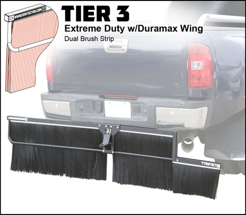 Tier 3 (Extreme Duty Dual Brush Strip With Duramax Wing)
