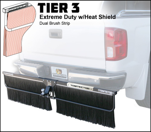 Tier 3 (Extreme Duty Dual Brush Strip With Heat Shield)