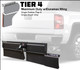 Tier 4 (Maximum Duty Single Rubber Flap and Single Brush Strip With Duramax Wing)