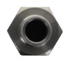 "Stainless Steel 1/2"" Barbed Hose Fitting - 1/2"" Female NPT"