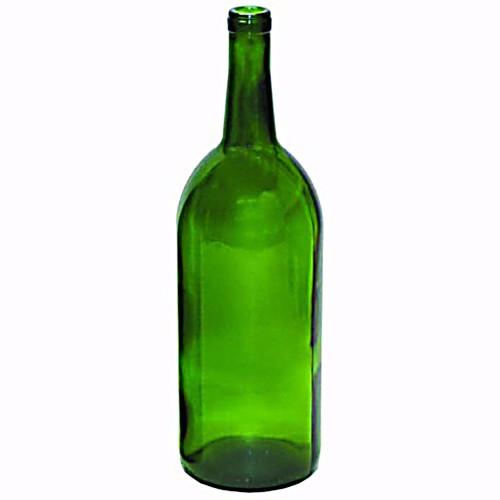 Emerald Green Claret/Bordeaux Bottles - 1.5 L - Case of 6