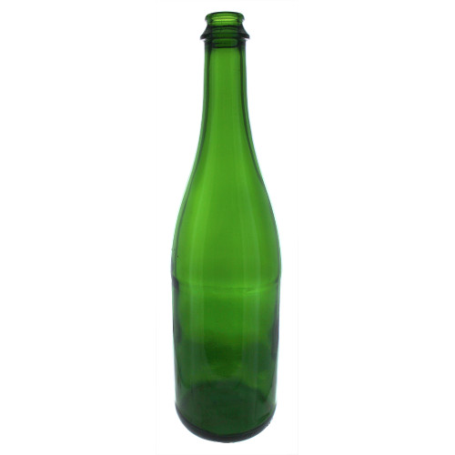 Green Champagne Bottles - 750 mL - Case of 12
