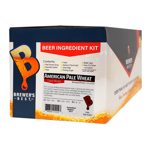 Brewer's Best American Pale Wheat Beer Kit - 5 Gallon