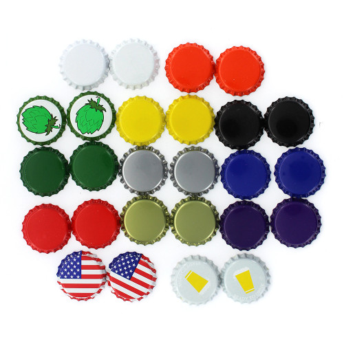 Oxygen Barrier Crown Caps-Sample Pack