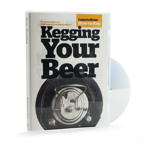 Craft Beer & Brewing: Kegging Your Beer - DVD