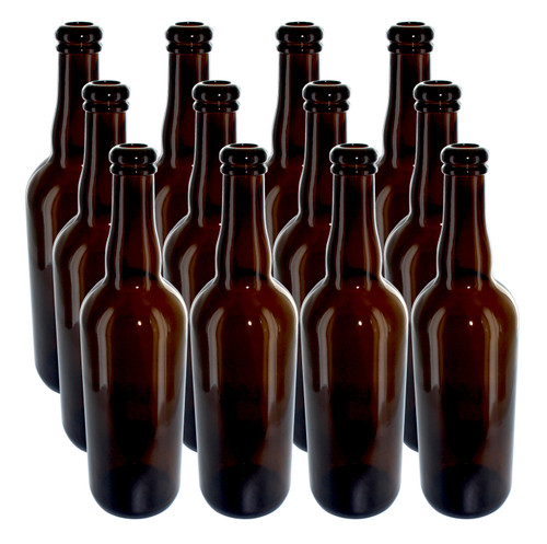 Belgian Beer Bottles - Case of 12 - 750 mL