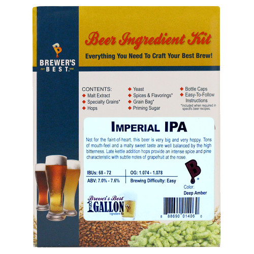 Imperial IPA Beer Kit - 1 Gallon