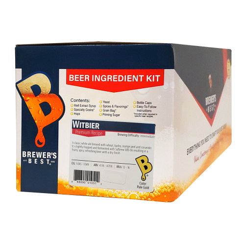 Brewer's Best Witbier Beer Kit - 5 Gallon