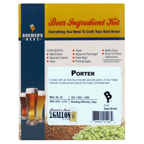 Porter Beer Kit - 1 Gallon