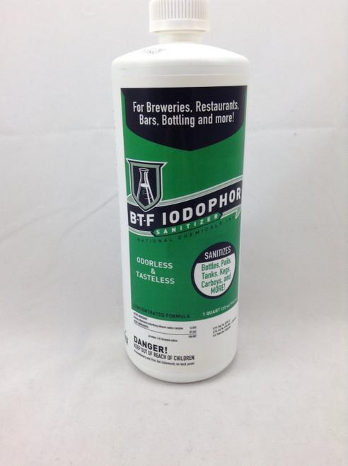 Iodophor Sanitizer - 32 oz