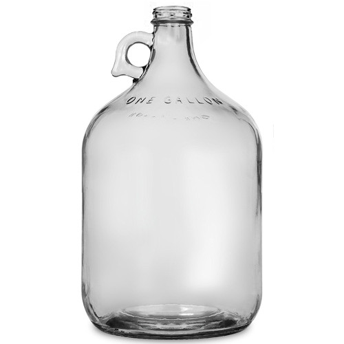 1 Gallon Glass Jug - Clear