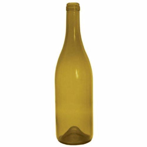 Punted Dead Leaf Burgundy Bottles - 750 mL - Case of 12