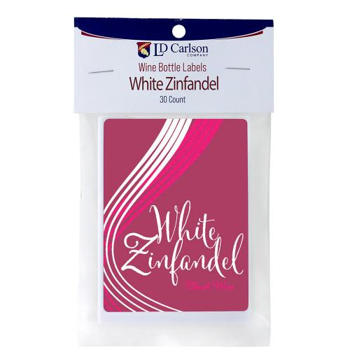 Wine Labels - White Zinfandel