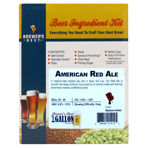 American Red Ale Beer Kit - 1 Gallon