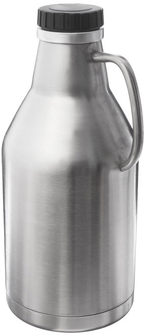 Double Walled Growler - Stainless Steel - 64 oz
