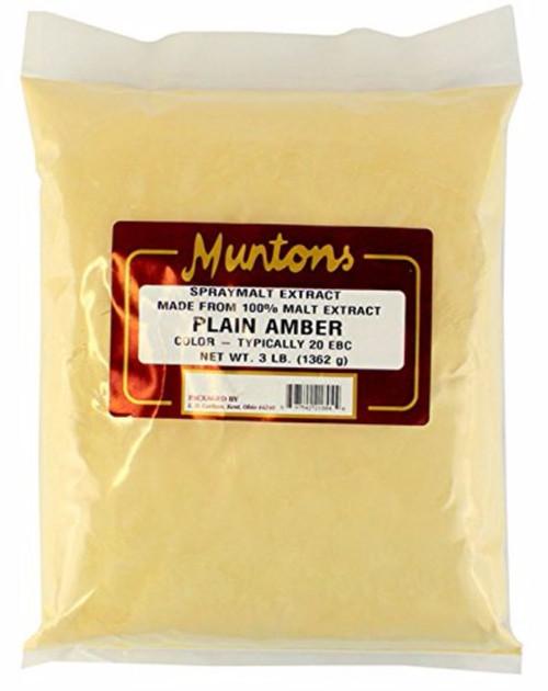 Muntons DME - Plain Amber - 3 Lbs