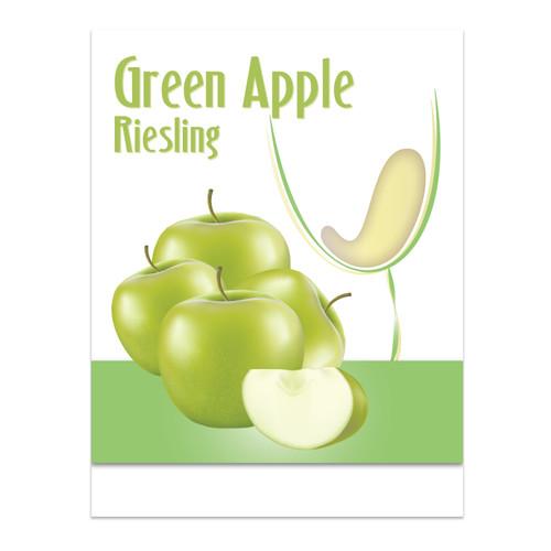 Island Mist Wine Labels - Green Apple Mist