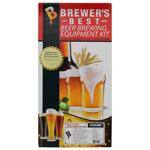 Brewer's Best Deluxe Equipment Kit with Better Bottle Carboy