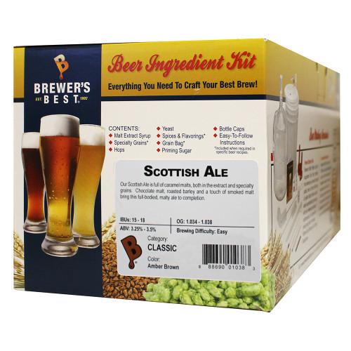 Brewer's Best Scottish Ale Beer Kit - 5 Gallon