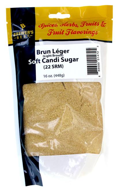 Candi Sugar - Brun Leger - 1 Lb