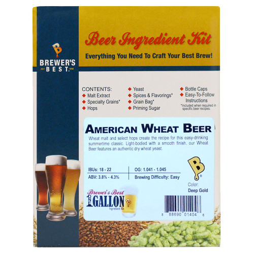 American Wheat Beer Kit - 1 Gallon