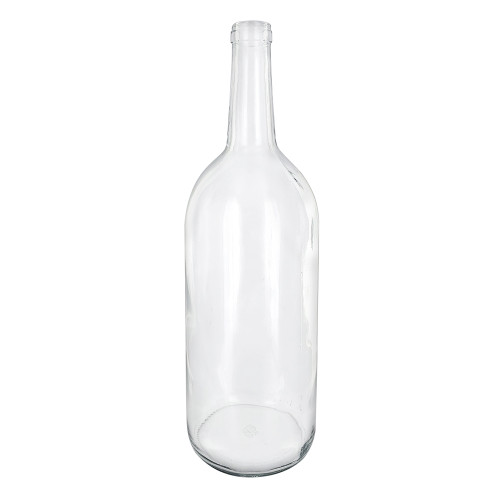 Clear Claret/Bordeaux Bottles - 1.5 L - Case of 6