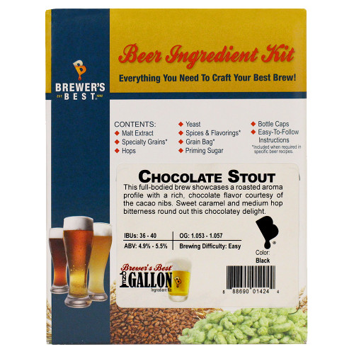 Chocolate Stout Beer Kit - 1 Gallon