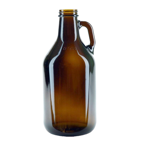 1/4 Gallon Glass Jug - Amber