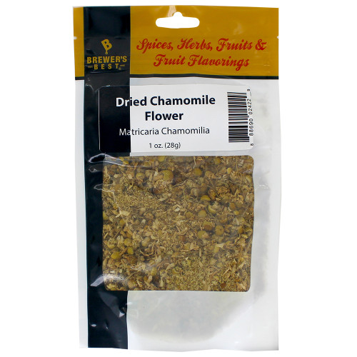 Herbs and Spices - Dried Chamomile Flower - 1 oz