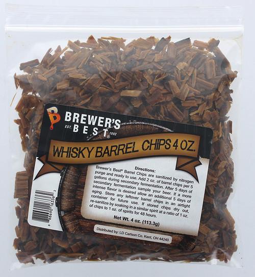 Brewer's Best Barrel Chips - Whisky Barrel - 4 oz