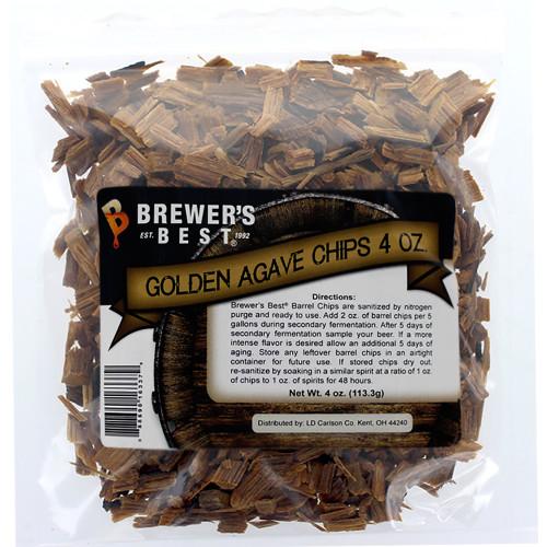 Brewer's Best Barrel Chips Golden Agave - 4 Ounces