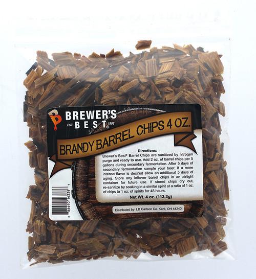 Brewer's Best Barrel Chips - Brandy Barrel - 4 oz