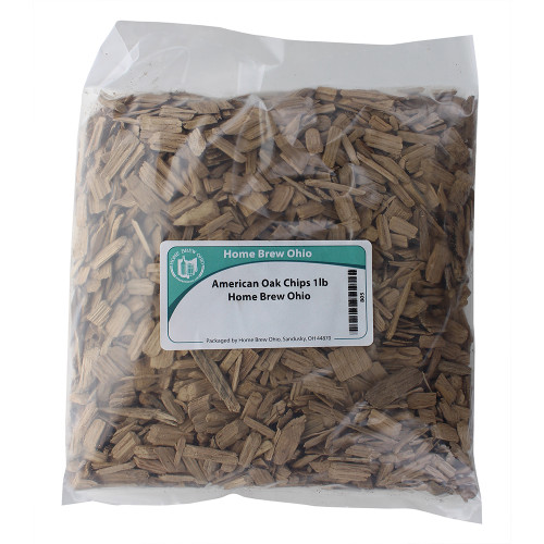 American Medium Toasted Oak Chips - 1 Lb
