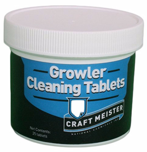 Growler Cleaning Tablets - 25 Count