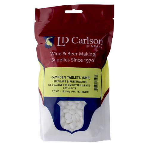 Campden Tablets (Sodium Metabisulfite) - 1 Lb