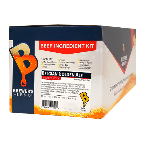 Brewer's Best Belgian Golden Ale Beer Kit - 5 Gallon