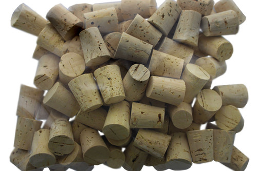 Small #7 Tapered Corks - 100 Count