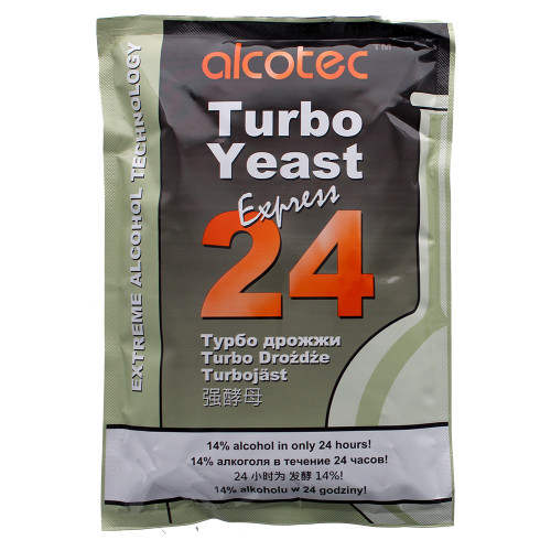 Alcotec 24-hour Turbo Yeast - 205 g