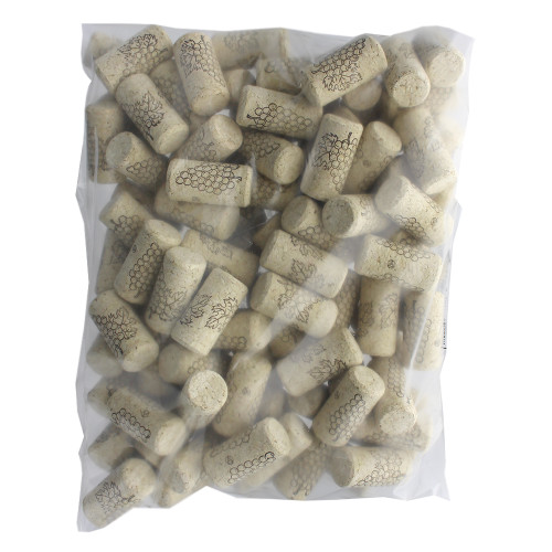 "#8 Straight Corks, 7/8"" x 1 3/4"" - Bag of 100"