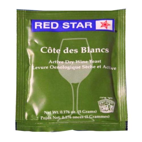 Red Star Cote des Blanc Wine Yeast - 1 Pack