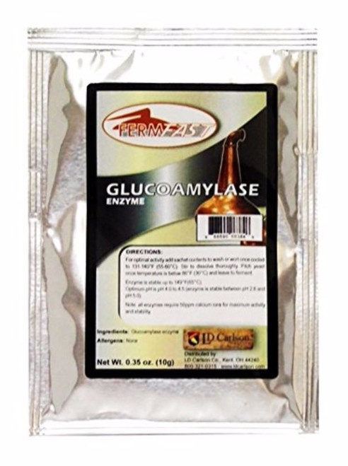 Glucoamylase Enzyme Single Dose Pack - 10 g