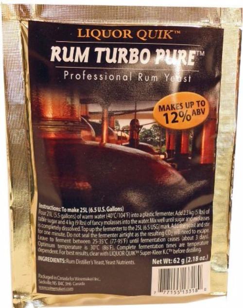 Liquor Quik Rum Turbo Pure Professional Rum Yeast