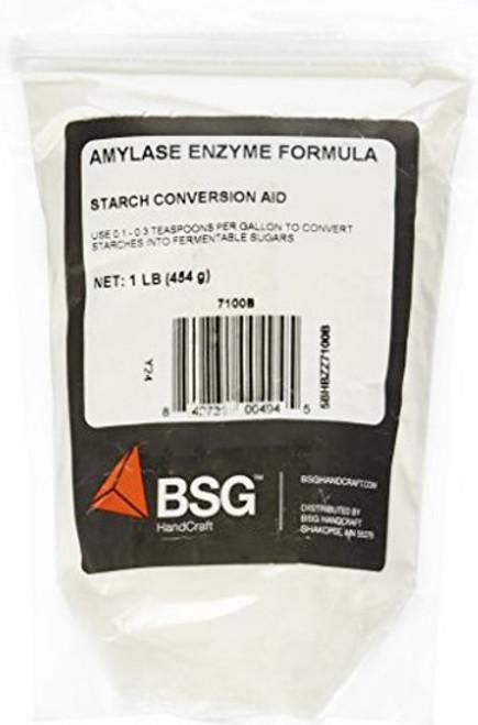 Amylase Enzyme - 1 Lb