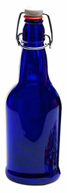 EZ Cap Kombucha Bottle - Blue - 32 oz