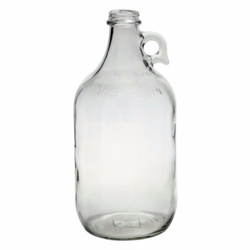 Flint 1/2 Gallon Glass Jug - Clear